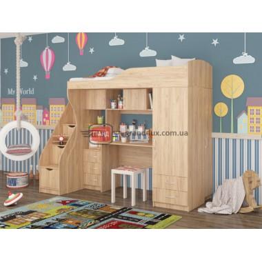 Кровать двухьярусная КД-02 (Maxi Мебель)