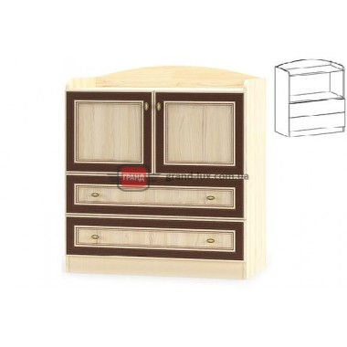 Комод 2Д2Ш Дисней (Мебель Сервис)