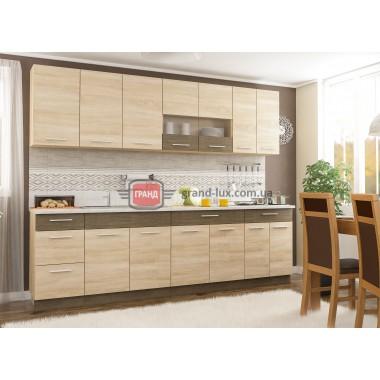 Кухня Грета 2.6 (Мебель Сервис)