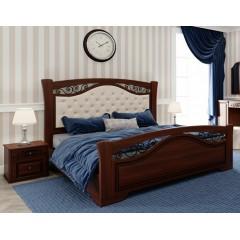 Кровать Беатрисс мягкое изголовье (Висент)