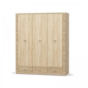 Шкаф 3Д3Ш Гресс (Мебель Сервис)