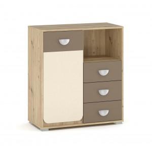 Комод 1Д3Ш Лами (Мебель Сервис)