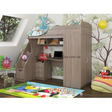 Кровать двухьярусная КД-05 (Maxi Мебель)