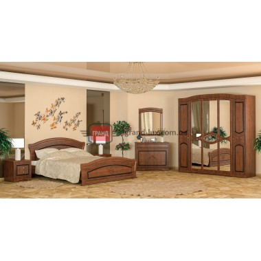 Спальня Милано 5Д (Мебель Сервис)