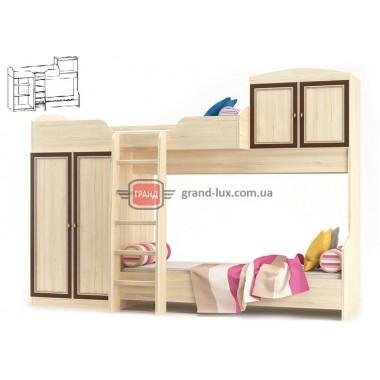 Кровать горка Дисней (Мебель Сервис)