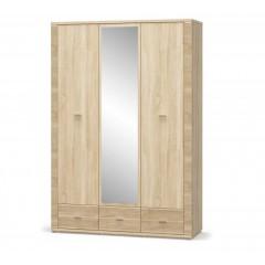 Шкаф 2Д 1дз 3Ш Гресс (Мебель Сервис)